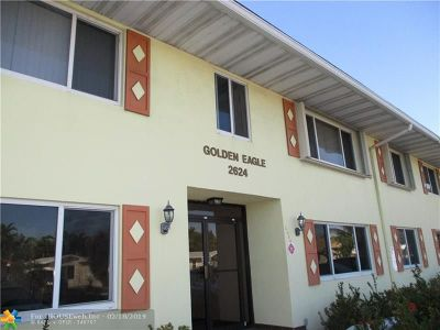 Fort Lauderdale FL Condo/Townhouse For Sale: $119,900