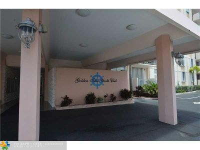 Hallandale Condo/Townhouse For Sale: 430 Golden Isles Drive #201