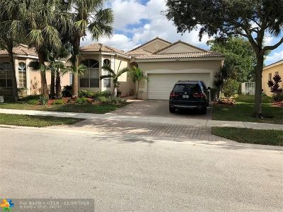 Coconut Creek Single Family Home For Sale: 5854 NW 49th Ln