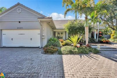 Coral Ridge, Coral Ridge 21-50 B, Coral Ridge Add, Coral Ridge Country Club Single Family Home For Sale: 2660 NE 37th Dr