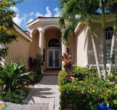 Boca Raton Single Family Home For Sale: 9701 Parkview Ave
