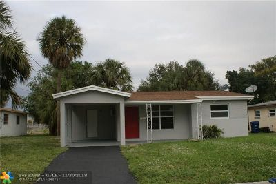 Lauderhill Single Family Home For Sale: 3771 NW 9th Ct