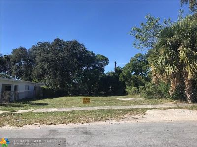 Fort Lauderdale Residential Lots & Land For Sale: 421 NW 15th Way