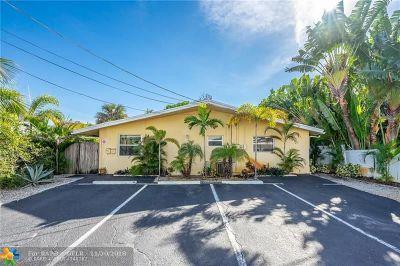 Oakland Park Multi Family Home Backup Contract-Call LA: 1280 NE 33rd St