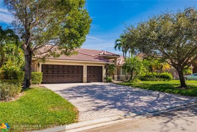 Coral Springs Single Family Home For Sale: 5521 NW 107th Ave