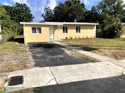 Fort Lauderdale Single Family Home For Sale: 1108 NW 17th Ave