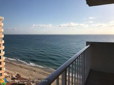 Highland Beach Condo/Townhouse For Sale: 4511 S Ocean Blvd #806