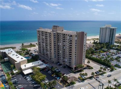 Pompano Beach Condo/Townhouse For Sale: 2000 S Ocean Blvd #16B