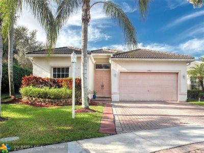 Coral Springs Single Family Home For Sale: 11767 NW 48th St