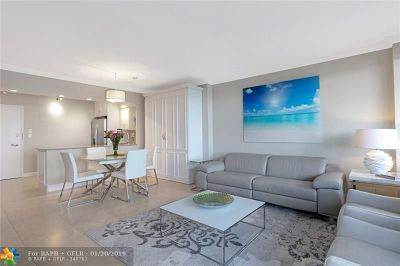Fort Lauderdale Condo/Townhouse For Sale: 3200 NE 36th St #712A