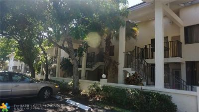 Oakland Park Condo/Townhouse For Sale: 3100 NW 46th St #103