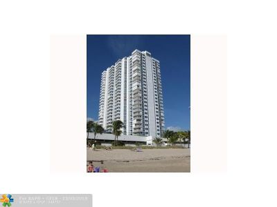 Pompano Beach Condo/Townhouse For Sale: 1360 S Ocean Blvd #703