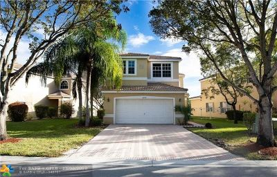 Coconut Creek Single Family Home For Sale: 6292 NW 40th Ave