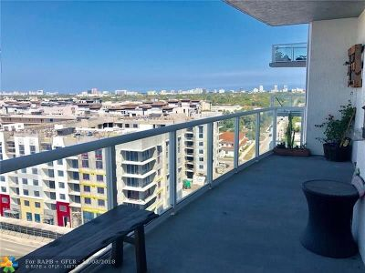 Fort Lauderdale Condo/Townhouse For Sale: 315 NE 3rd Ave #1008