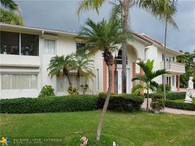 Fort Lauderdale Single Family Home For Sale: 2701 N Atlantic Blvd
