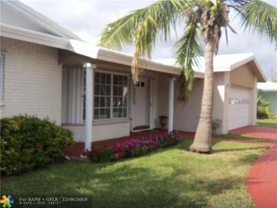 Fort Lauderdale Single Family Home For Sale: 6631 NE 20th Way