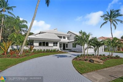 Boca Raton Single Family Home For Sale: 4404 Bocaire Blvd