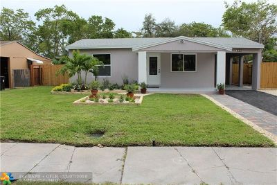 Fort Lauderdale Single Family Home For Sale: 222 SW 11th Ct