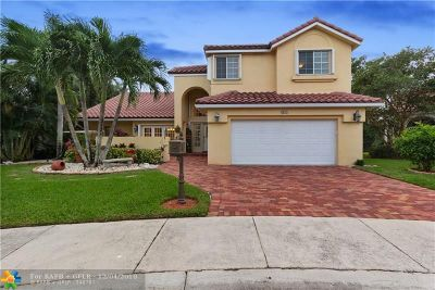 Weston Single Family Home For Sale: 625 Spinnaker