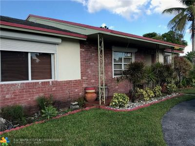 North Lauderdale Single Family Home For Sale: 7813 SW 7th St