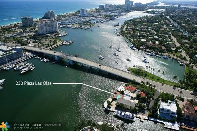 Las Olas Isles Single Family Home For Sale: 230 Plaza Las Olas