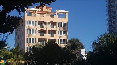 Broward County Condo/Townhouse For Sale: 3236 NE 5th St #701