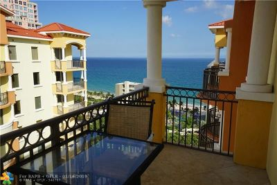 Fort Lauderdale Condo/Townhouse For Sale: 2001 N Ocean Blvd #1604s
