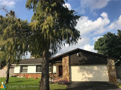 Margate Single Family Home Backup Contract-Call LA: 4997 SW 11th Pl