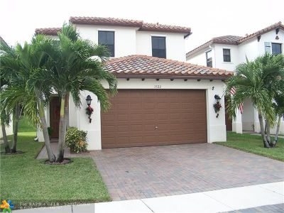 Pembroke Pines Single Family Home For Sale: 3522 SW 93rd Ave