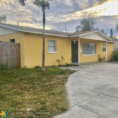 West Palm Beach Single Family Home For Sale: 1536 45th St