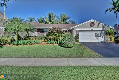 Davie Single Family Home For Sale: 14761 Highland Springs Ct