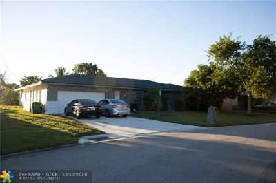 Coral Springs Single Family Home For Sale: 2722 NW 120th Way
