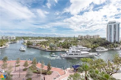 Fort Lauderdale Condo/Townhouse For Sale: 411 N New River Dr #701