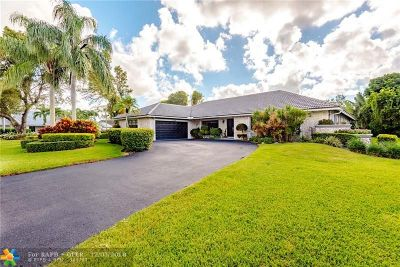 Coral Springs Single Family Home For Sale: 11266 NW 11th Ct