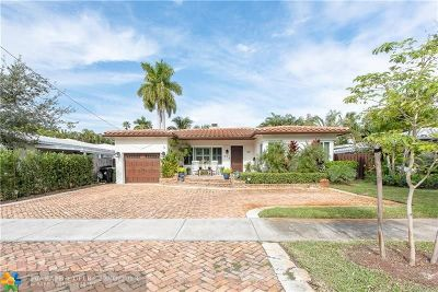 Fort Lauderdale Single Family Home For Sale: 921 SE 11th Ct
