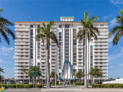 Hollywood Condo/Townhouse For Sale: 1500 S Ocean Dr #I7