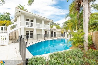 Fort Lauderdale Single Family Home For Sale: 824 SE 8th St