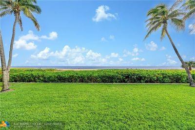 Pompano Beach Rental For Rent: 520 N Ocean Blvd #8