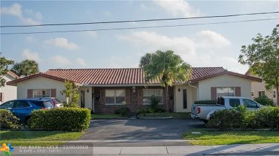 Coral Springs Multi Family Home For Sale: 3701 NW 110th Ave