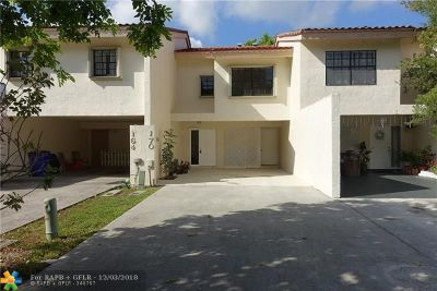 Deerfield Beach Condo/Townhouse For Sale: 170 NW 45th Ave #1