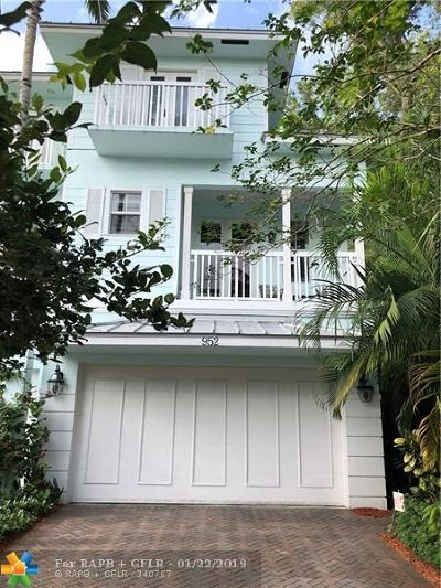 Fort Lauderdale Single Family Home For Sale: 952 SW 7th St