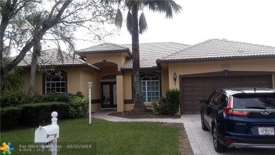 Coral Springs Single Family Home For Sale: 8450 NW 45th Mnr