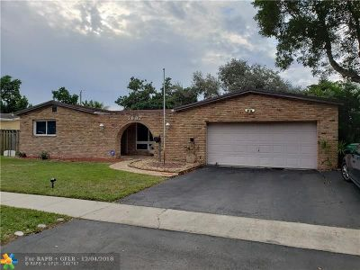 Cooper City Single Family Home For Sale: 5007 SW 89th Ave