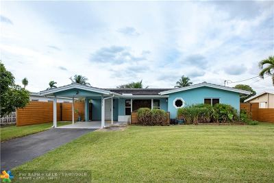 Oakland Park Single Family Home For Sale: 3371 NW 18th Ave