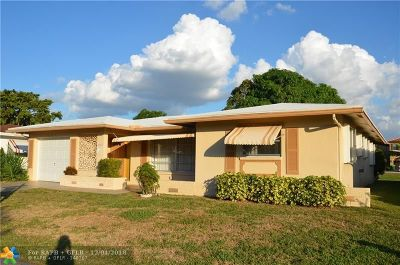 Tamarac Single Family Home For Sale: 4810 NW 49th Rd