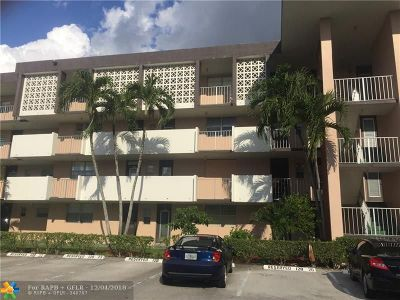 Lauderdale Lakes Condo/Townhouse For Sale: 2991 NW 46th Ave #308