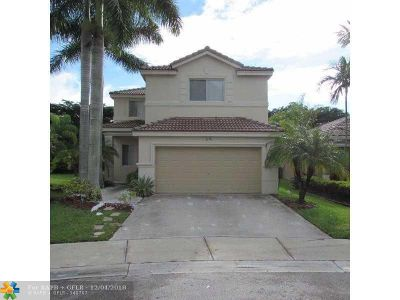 Weston Single Family Home For Sale: 1216 Golden Cane Dr
