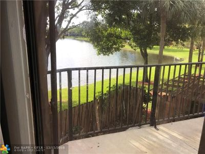 North Lauderdale Condo/Townhouse For Sale: 8356 N Coral Cir #8356