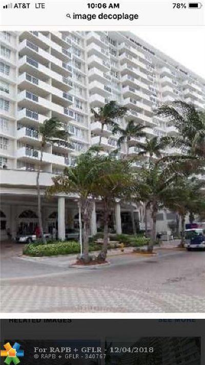Miami Beach Condo/Townhouse For Sale: 100 Lincoln Rd #643