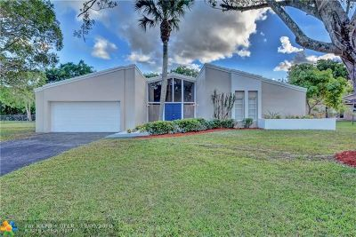 Coral Springs FL Single Family Home For Sale: $429,900